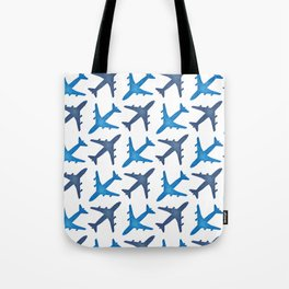 Plane Pattern Tote Bag