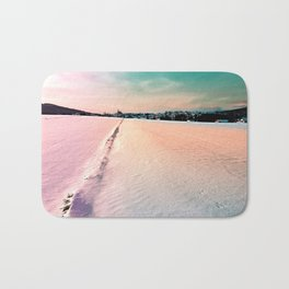 The field and the village Bath Mat