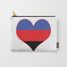 Polyamorous Heart Carry-All Pouch