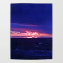 Purple Twilight Poster
