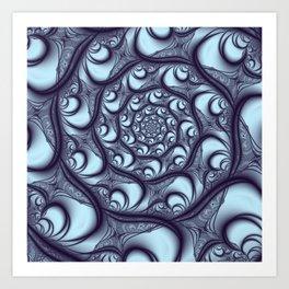 Fractal Web Art Print