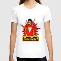 robin williams T-shirts featuring Nanu Nanu     Mork     Robin Williams Tribute by Silvio Ledbetter