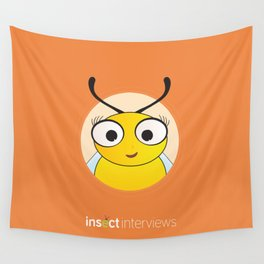 Becky the Bee Wall Tapestry