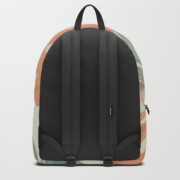Monstera Pop Backpack