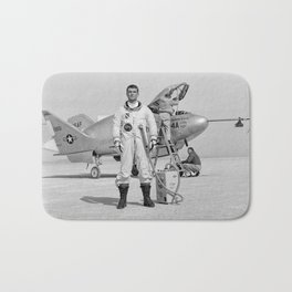 X-24A on Lakebed Bath Mat