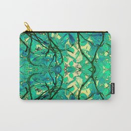 CHESTNUT FOLIAGE FANTASY ABSTRACT Carry-All Pouch
