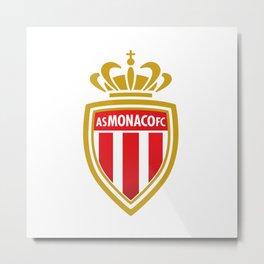 AS Monaco Logo Metal Print