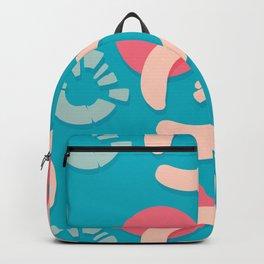funny circles Backpack