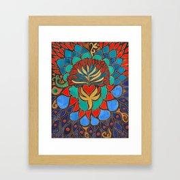 Feral Heart #03 Framed Art Print
