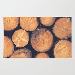 Wood Logs Rug