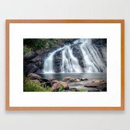 Profile Falls, Bristol, NH Framed Art Print
