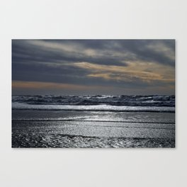 El Segundo Beach Sunset Canvas Print