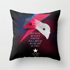 Blackstar (from Mars) Throw Pillow