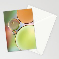 Oil On Water Edged With Gold Stationery Cards