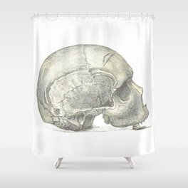 Skull 4 Shower Curtain