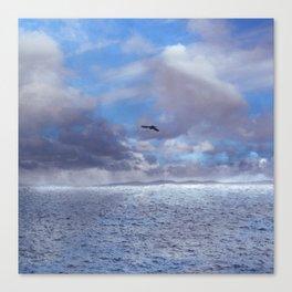 Pastel vibes 42 - El vuelo II Canvas Print