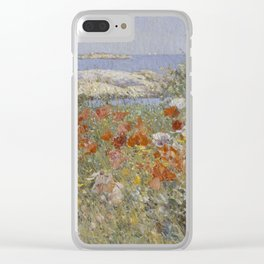 Childe Hassam - Celia Thaxter's Garden, Isles of Shoals Clear iPhone Case
