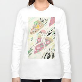 Pizza Riders Long Sleeve T-shirt