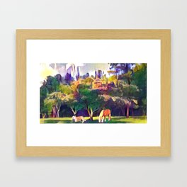 Mimosa Bellas Framed Art Print