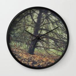 Autumn in the Woods Wall Clock