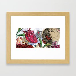 Hedonistic Approaches to Healthy Living Framed Art Print