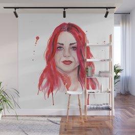 Frances Bean Cobain Wall Mural