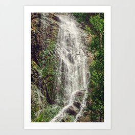 Feel the Cleansing Art Print