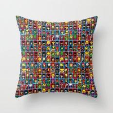 D C  comic collection Throw Pillow