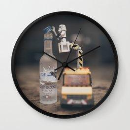 Poppin' Bottles Wall Clock