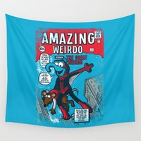 muppet Wall Tapestries featuring Amazing Wierdo by Hoborobo