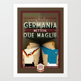 Poster Nostalgica - Germania divisa Art Print