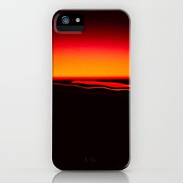 Night Lights Four Red Tail Lights iPhone Case