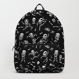 Baby skeletons dancing Backpack