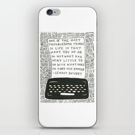 What Does Not Happen iPhone Skin