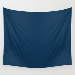 Prussian Blue Wall Tapestry