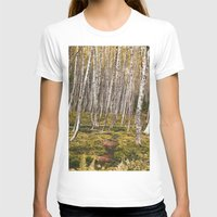 helen T-shirts featuring Regrowth from Mount Saint Helen by Amanda Picotte