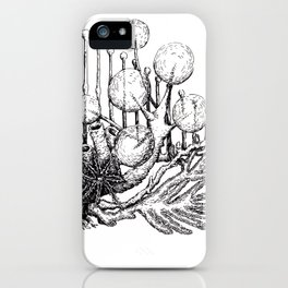 sea plants iPhone Case
