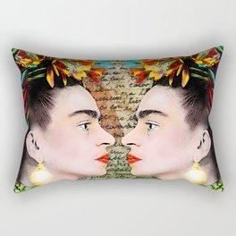 Frida vs Frida Rectangular Pillow