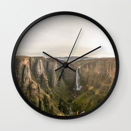 Place of Smoke 2 Wall Clock