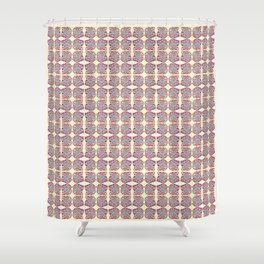 Life Is Rarely About Repetition Shower Curtain