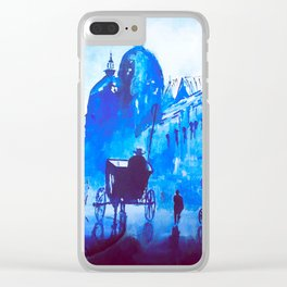 Old London Clear iPhone Case