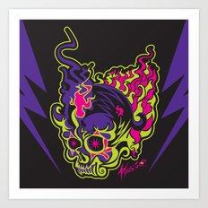 Skull 1.0 Art Print