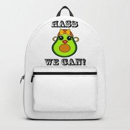 Hass we Can Kawaii Avocado Backpack