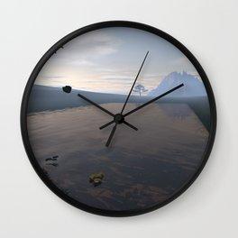 Nobody's Land Wall Clock