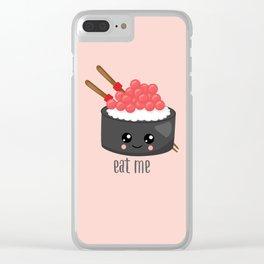 Eat Me Tekka Maki Sushi Clear iPhone Case