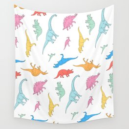 Dino Doodles Wall Tapestry