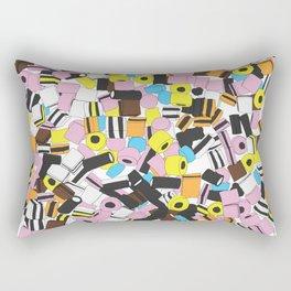 Lots of Liquorice Allsorts Rectangular Pillow