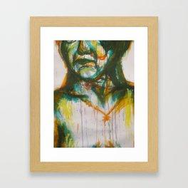 Loose painting Framed Art Print