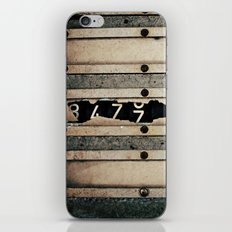 Industrial Numbers iPhone & iPod Skin