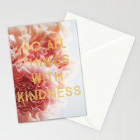 With Kindness Stationery Cards